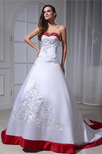 robe-de-mariee-rouge-et-blanc-en-satin