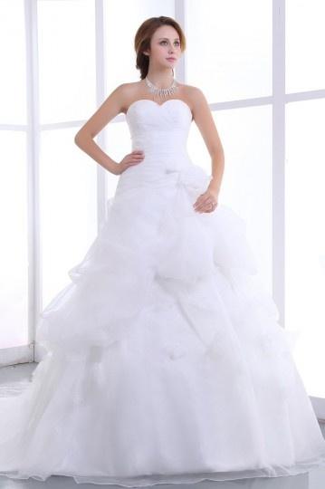 robe de mari e bustier d collet en c ur sans bretelle