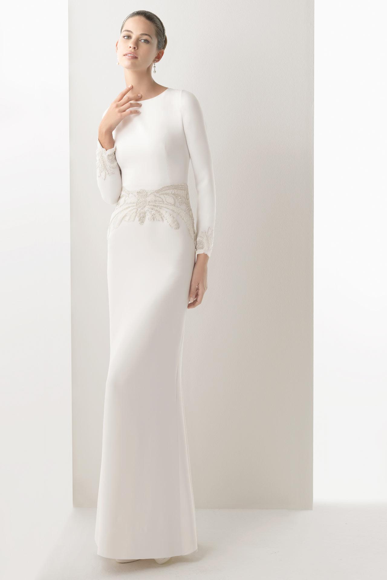 Robe de soiree pour mariage civil
