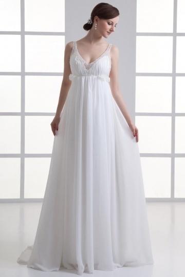 robe blanche de mariée