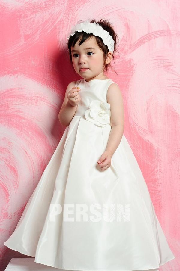 Robe petite fille mariage rose