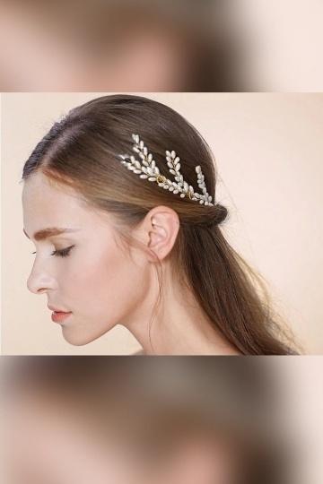 épingles cheveux perlée pour mariage