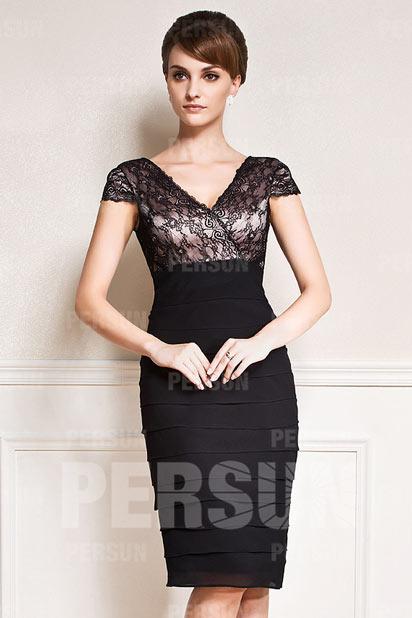 robe mariage invite noire - Robe Noire Invite Mariage