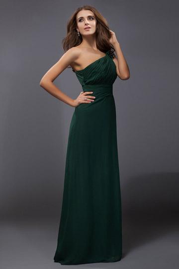 robe-de-soiree-verte-asymetrique