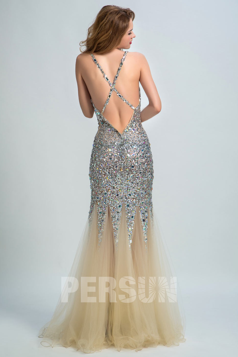 robe-de-soiree-sirene-brillante-dos-decollete