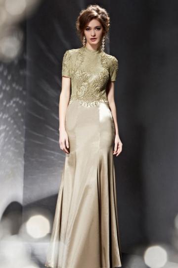 ... 2015 Elégante robe de soirée dos nu à forme très près du corps