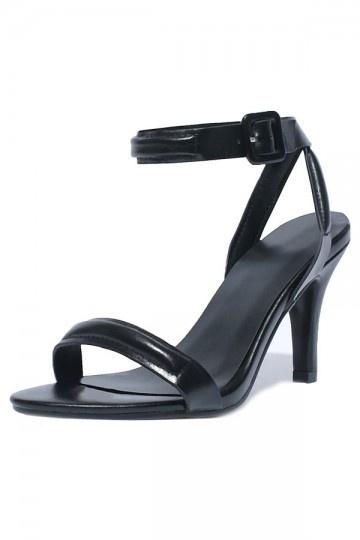 Sandale à talon avec bride de cheville